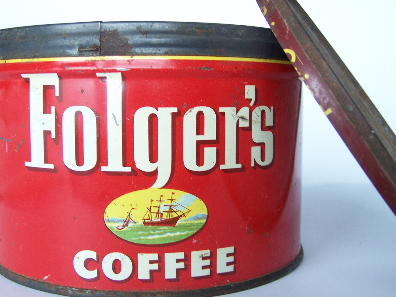 Old Coffee Tin