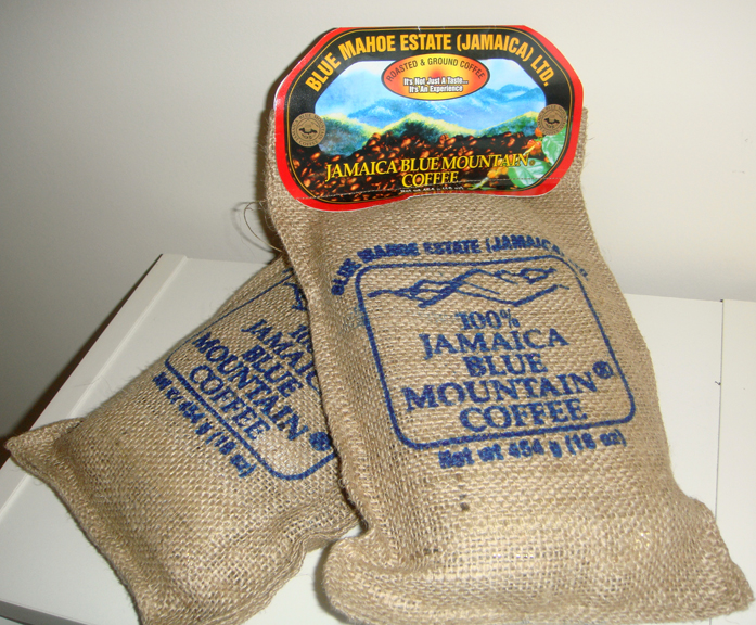 Samples Jamaica Blue Mountain Coffee